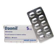 ダオニール(糖尿病治療薬)5mg
