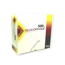 グルコファージ(糖尿病治療薬)500mg