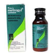 メトロジール(抗菌剤)