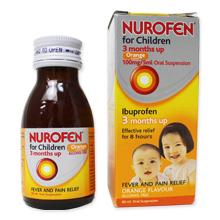 ニューロフェン子供用シロップ(解熱鎮痛剤)