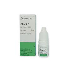 オカシン点眼液(抗菌目薬)