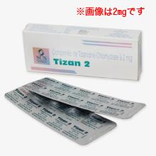 チザン 2mg/4mg(筋弛緩剤)
