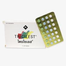 トライシレスト(経口避妊薬)